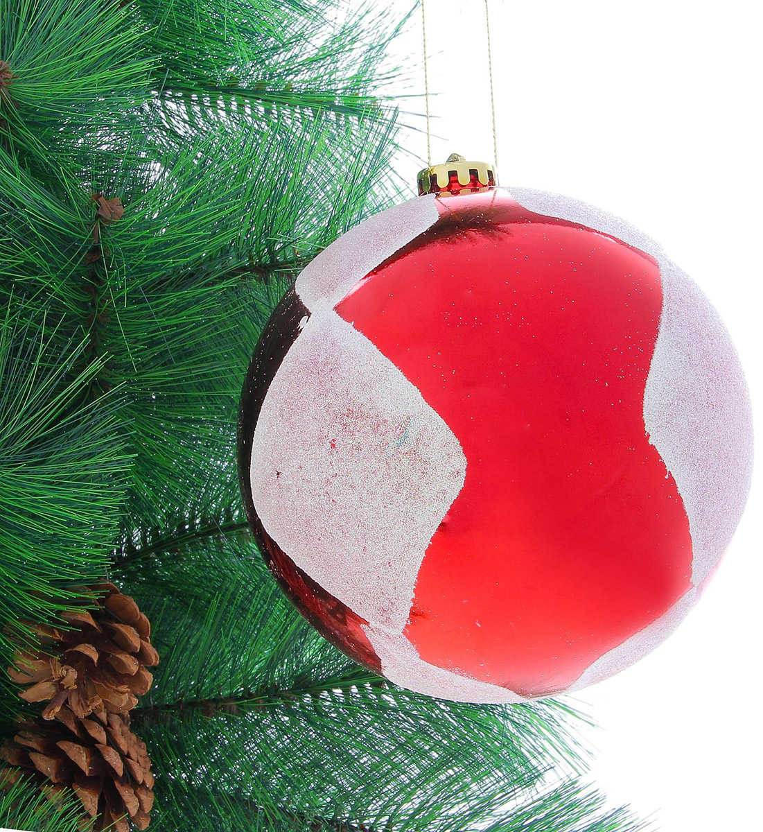 Новогоднее подвесное украшение Sima-land Ромбы, диаметр 14 см новогоднее подвесное украшение sima land зимний узор диаметр 8 см