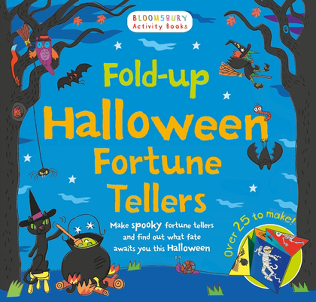 Fold-up Halloween Fortune Tellers where have you been