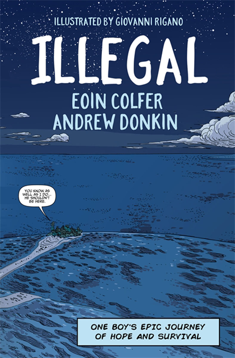 Illegal: A graphic novel telling one boy's epic journey to Europe journey to portugal