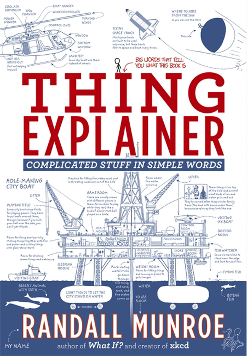 Thing Explainer: Complicated Stuff in Simple Words ten things we did and probably shouldn t have