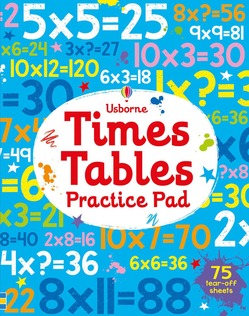 Times tables practice pad c shaped waterfall acrylic occasional side tray table on wheels plexiglass rolling sofa tea tables