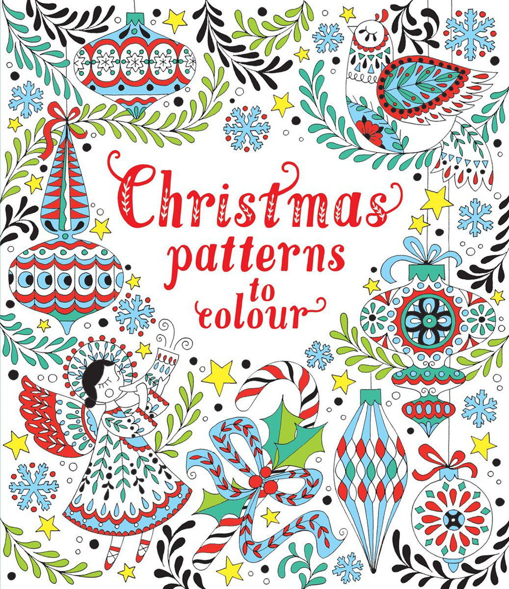 Christmas patterns to colour christmas wonderland to colour