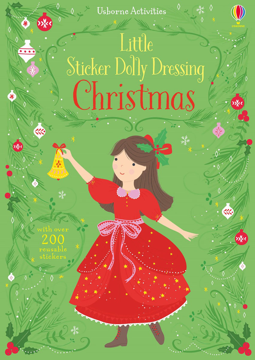 Little Sticker Dolly Dressing Christmas little children s knights and castles activity book