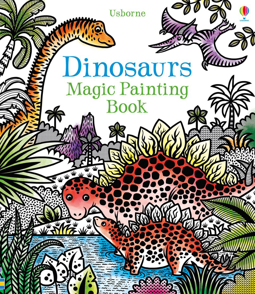 Dinosaurs magic painting book quest for the african dinosaurs