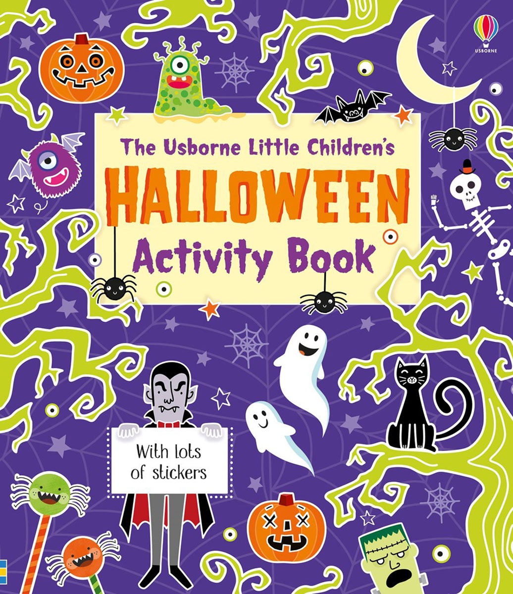 Little children's Halloween activity book the halloween tree