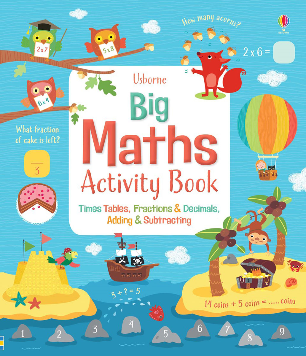 Big maths activity book mastering english prepositions