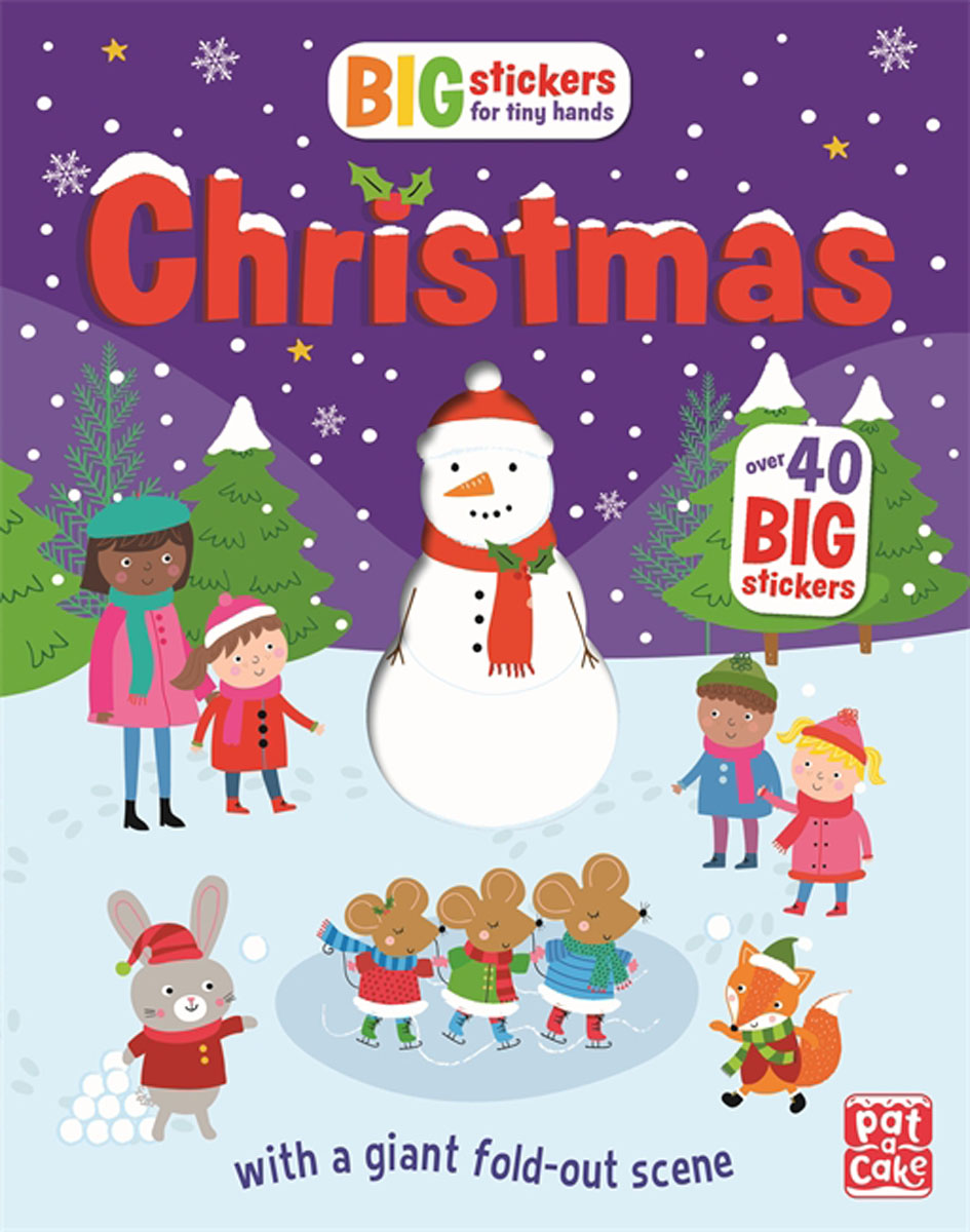 Christmas: With scenes, activities and a giant fold-out picture peel