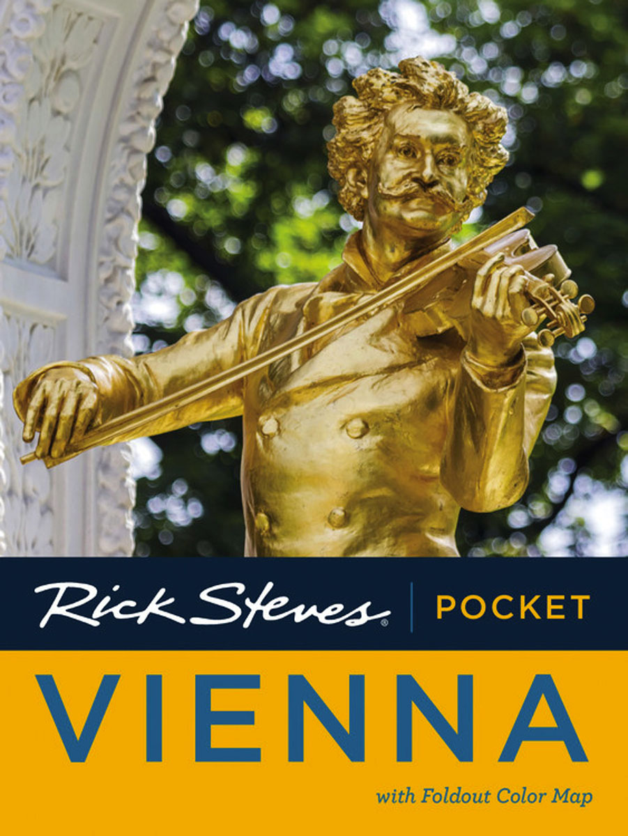 Rick Steves Pocket Vienna dublin pocket map and guide