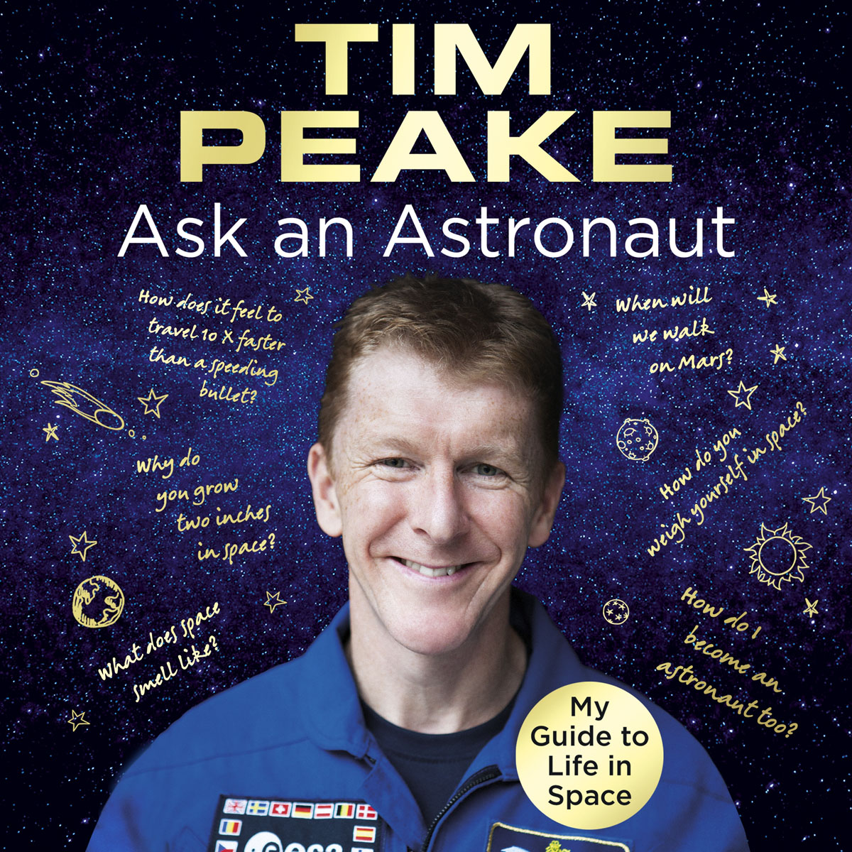 Ask an Astronaut (CD Audiobook) from the earth to the moon
