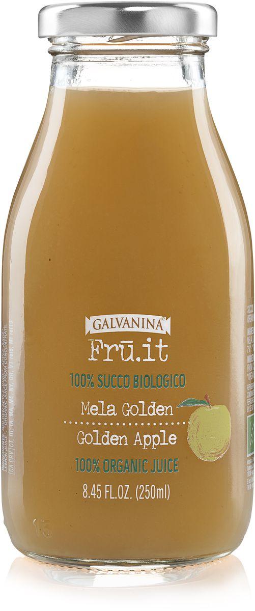 Galvanina сок яблочный 100%, 250 мл8007885737030Сок изготовлен исключительно из натуральных ингредиентов, выращенных на территории Италии.