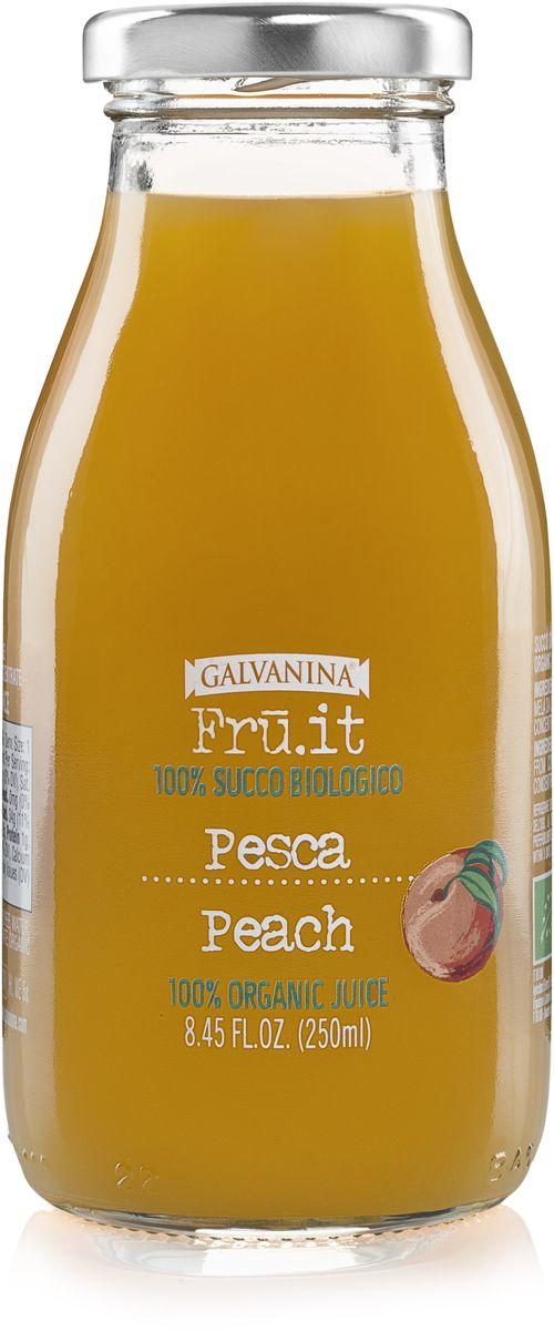 Galvanina сок персиковый, 250 мл8007885737085Сок изготовлен исключительно из натуральных ингредиентов, выращенных на территории Италии.