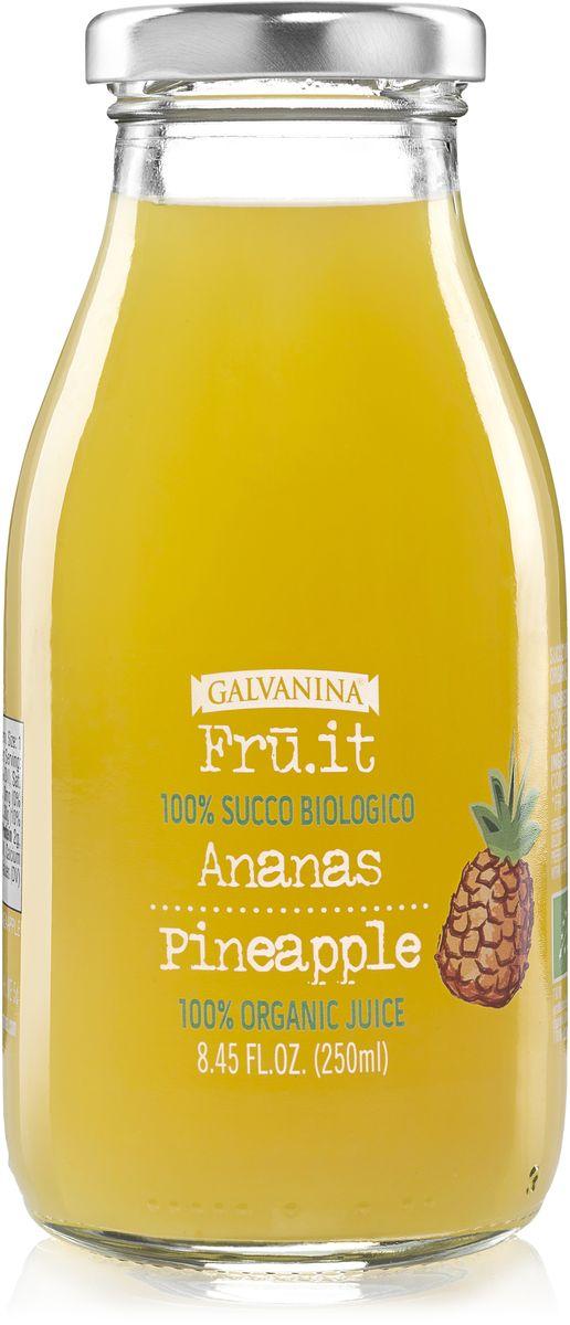 Galvanina сок ананасовый 100%, 250 мл спрей pureheal s propolis 50 volume mist объем 100 мл
