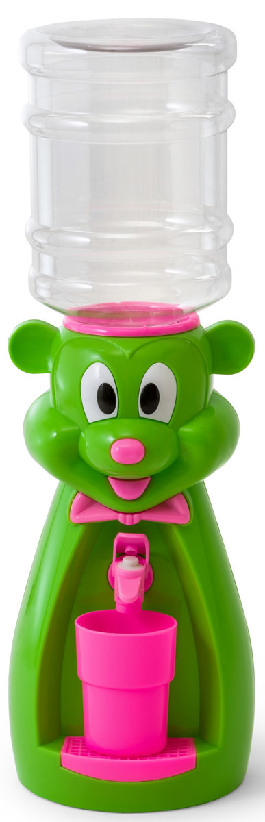 Vatten Kids Mouse, Green Pink кулер для воды (со стаканчиком) - Кулеры для воды
