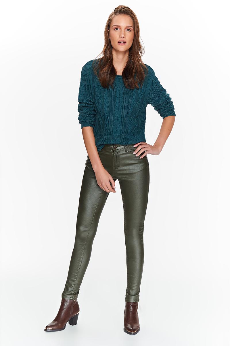 Брюки женские Top Secret, цвет: зеленый. SSP2708ZI. Размер 42 (50) шорты женские top secret цвет синий ssz0815ni размер 42 50