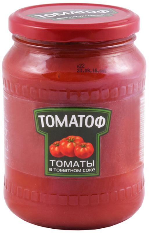 Томатоф томаты в томатном соке, 720 мл lorado томаты маринованные 720 мл