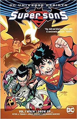 Super Sons: Volume 1: When I Grow Up chimpanzee complex the vol 2 the sons of ares