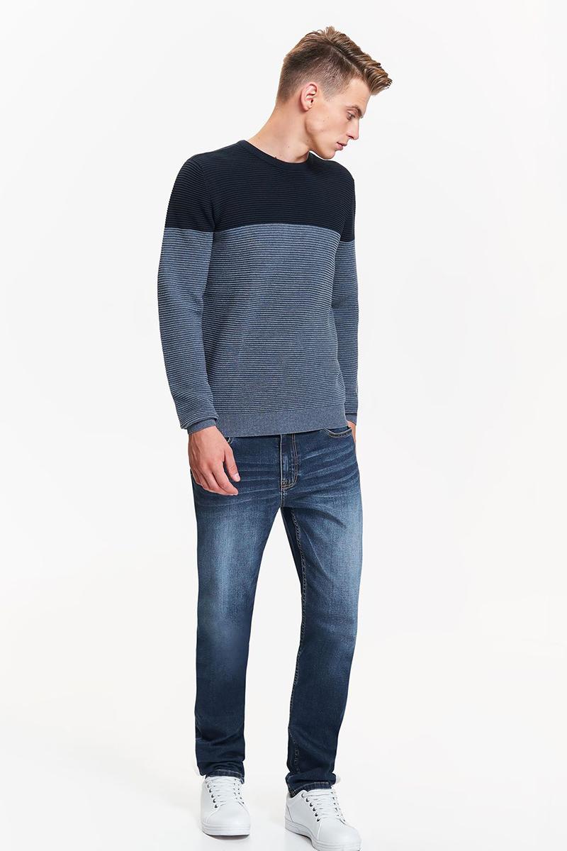 Свитер мужской Top Secret, цвет: синий. SSW2154NI. Размер XXL (52)SSW2154NI