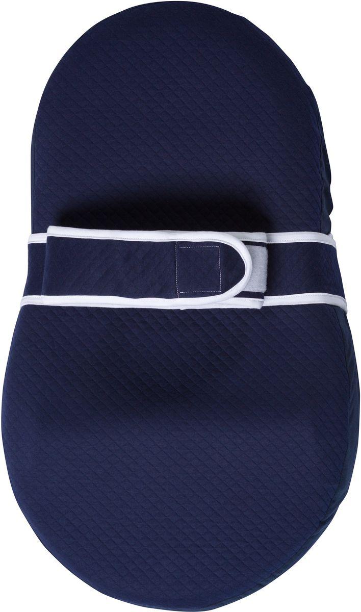 Dolce Bambino Матрас-кокон для новорожденных Dolce Cocon цвет синий 70 х 41 см dolce bambino подушка матрас dolce pad цвет бежевый 65 х 38 х 18 см