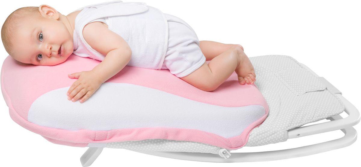 """Уникальное изобретение, имитирующее положение ребенка на груди матери, или """"маминого животика"""". Использование Dolce Pad оказывает успокоительный эффект на новорожденного, снижая колики и плач ребенка. Съемный чехол из высококачественного флиса. На время отдыха новорожденного в Dolce Cocon, родители могут передохнуть и заняться своими делами! Уважаемые клиенты! Обращаем ваше внимание на то, что в комплект входит только подушка-матрас, без пластиковой конструкции."""