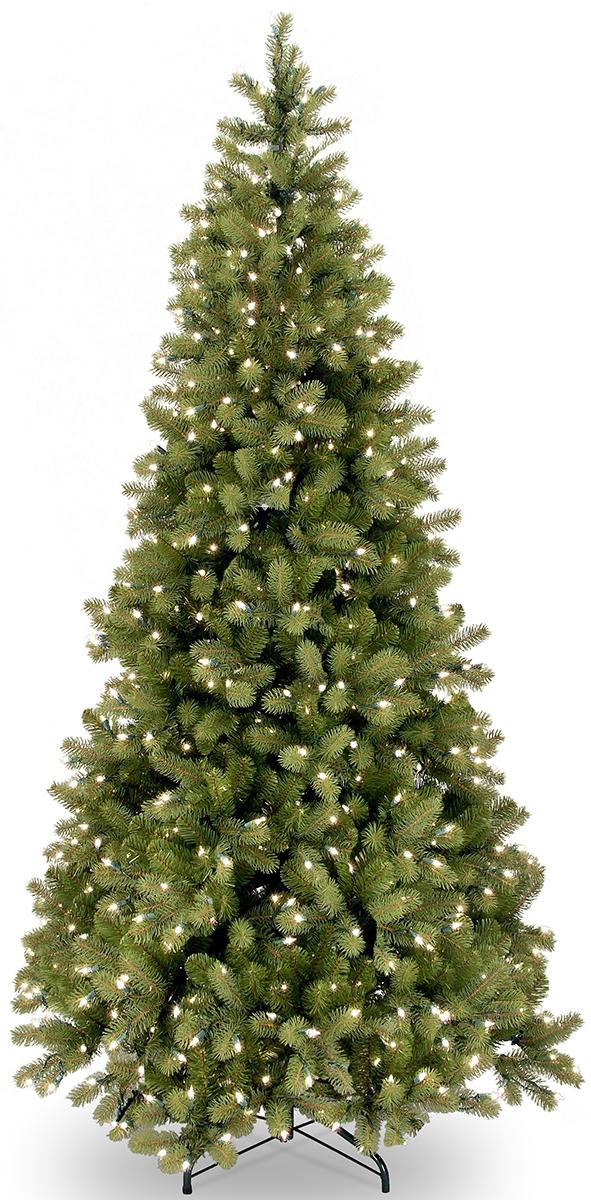 Ель искусственная National Tree Company, напольная, с LED гирляндой, высота 183 см. 31HPEBYS60L31HPEBYS60LИскусственная ель - это прекрасный вариант для оформления интерьера к Новому году. Остается только собрать и нарядить красавицу. Она абсолютно безопасна, удобна в сборке и не занимает много места при хранении. Ель состоит из верхушки, сборного ствола и устойчивой подставки. Сказочно красивая новогодняя ель украсит интерьер вашего дома и создаст теплую и уютную атмосферу праздника. Ель снабжена гирляндой (350 ламп), работающей от сети.