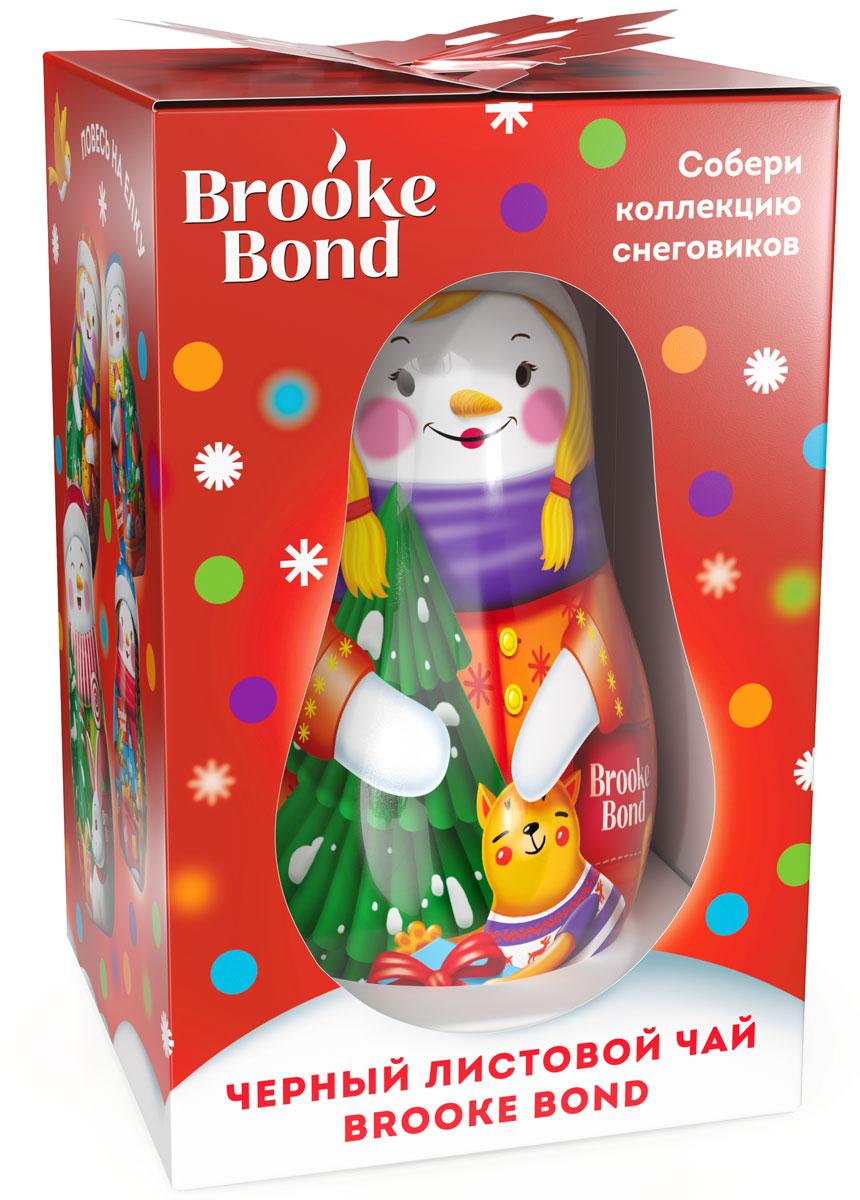 Brooke Bond чай елочное украшение снеговик с чаем Кошка, 20 г67289066Новогодняя коллекция от бренда Brooke Bond – это коллекция умилительных снеговиков: девочек и мальчиков, которые подарят вам и вашим близким отличное новогоднее настроение. Они обязательно заставят вас улыбнуться и станут прекрасным маленьким комплементом для родных и близких в преддверии Нового года. Превосходный черный листовой чай Brooke Bond вместе со снеговиками станет оригинальным украшением новогодней ёлки и обеспечит атмосферу праздника для всей вашей семьи.В состав набора входят:1. Чай черный Brooke Bond, 20г.Состав: чай черный листовой.2. Жестяная банка во форме снеговика Способ употребления: Насыпьте 5 чайный ложек чая в заварочный чайничек, залейте кипятком (100С) 400 мл и дайте чаю настояться 5-7 мин