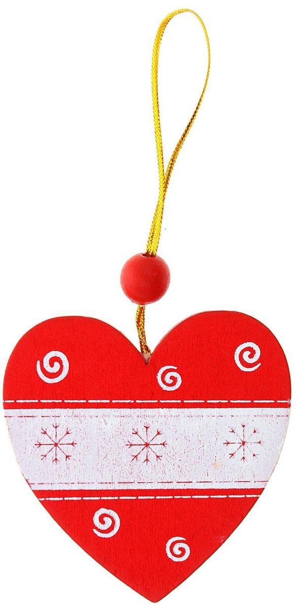 Новогоднее подвесное украшение Sima-land Метель, 6,5 х 6,5 см1032658Новогоднее украшение Sima-land отлично подойдет для декорации вашего дома и новогодней ели.Елочная игрушка - символ Нового года. Она несет в себе волшебство и красоту праздника. Такое украшение создаст в вашем доме атмосферу праздника, веселья и радости.