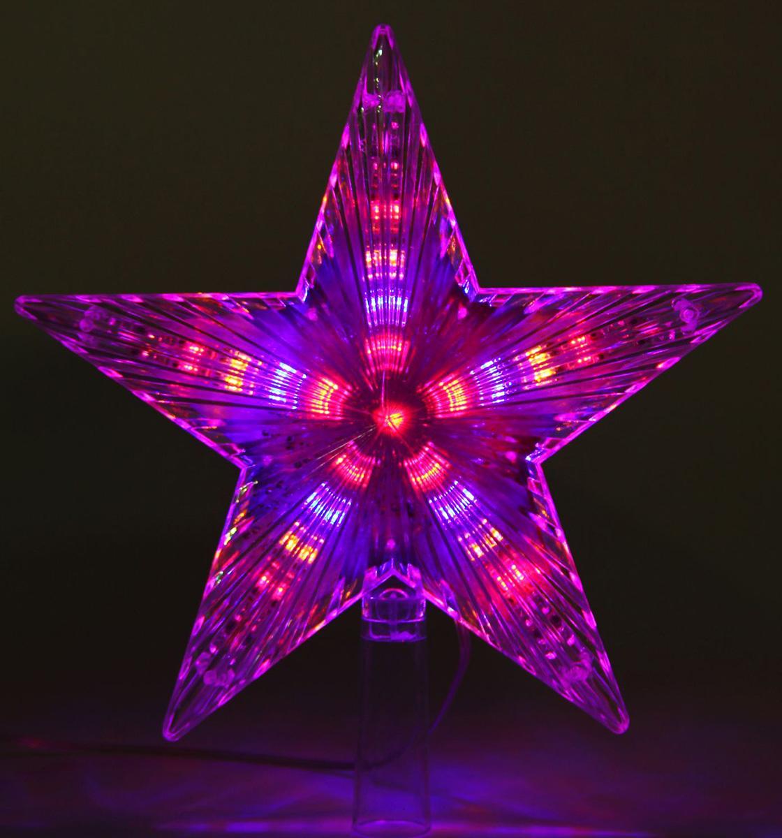 Верхушка на елку Luazon Звезда белая, светодиодная, 30 LED, 22 х 22 см1077217Невозможно представить нашу жизнь без праздников! Мы всегда ждём их и предвкушаем, обдумываем, как проведём памятный день, тщательно выбираем подарки и аксессуары, ведь именно они создают и поддерживают торжественный настрой.