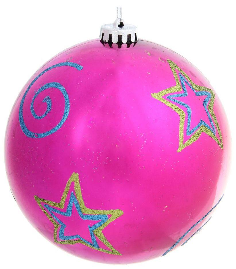 Новогоднее подвесное украшение Sima-land Звезда, диаметр 15 см новогоднее подвесное украшение собака ф21 1716