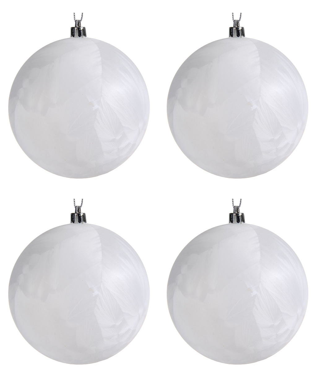 Набор новогодних подвесных украшений Sima-land Туман, цвет: белый, диаметр 10 см, 4 шт1307148Невозможно представить нашу жизнь без праздников! Мы всегда ждём их и предвкушаем, обдумываем, как проведём памятный день, тщательно выбираем подарки и аксессуары, ведь именно они создают и поддерживают торжественный настрой.