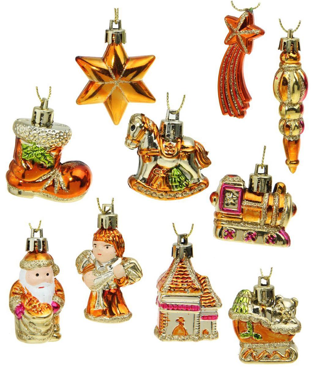 Набор новогодних подвесных украшений Sima-land Ассорти, 12 шт. 13102011310201Невозможно представить нашу жизнь без праздников! Мы всегда ждём их и предвкушаем, обдумываем, как проведём памятный день, тщательно выбираем подарки и аксессуары, ведь именно они создают и поддерживают торжественный настрой.