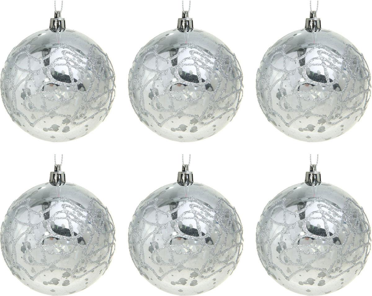 Набор новогодних подвесных украшений Sima-land Лабиринт, диаметр 8 см, 6 шт1310266Набор новогодних подвесных украшений Sima-land отлично подойдет для декорации вашего дома и новогодней ели. С помощью специальной петельки украшение можно повесить в любом понравившемся вам месте. Но, конечно, удачнее всего оно будет смотреться на праздничной елке. Елочная игрушка - символ Нового года. Она несет в себе волшебство и красоту праздника. Создайте в своем доме атмосферу веселья и радости, украшая новогоднюю елку нарядными игрушками, которые будут из года в год накапливать теплоту воспоминаний.