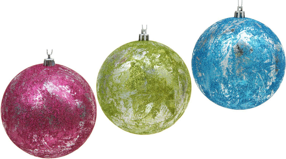 Набор новогодних подвесных украшений Sima-land Мелодия, диаметр 10 см, 3 шт1310295Набор новогодних подвесных украшений Sima-land изготовлен из пластика. Изделия имеют плотный корпус, поэтому не разобьются при падении.Невозможно представить нашу жизнь без праздников! Новогодние украшения несут в себе волшебство и красоту праздника. Создайте в своем доме атмосферу тепла, веселья и радости, украшая его всей семьей.В наборе 3 украшения.