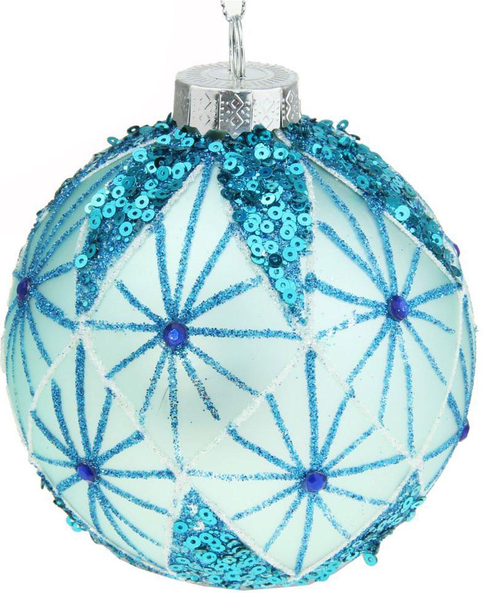 Новогоднее подвесное украшение Sima-land Галилео, диаметр 10 см новогоднее подвесное украшение sima land зимний узор диаметр 8 см