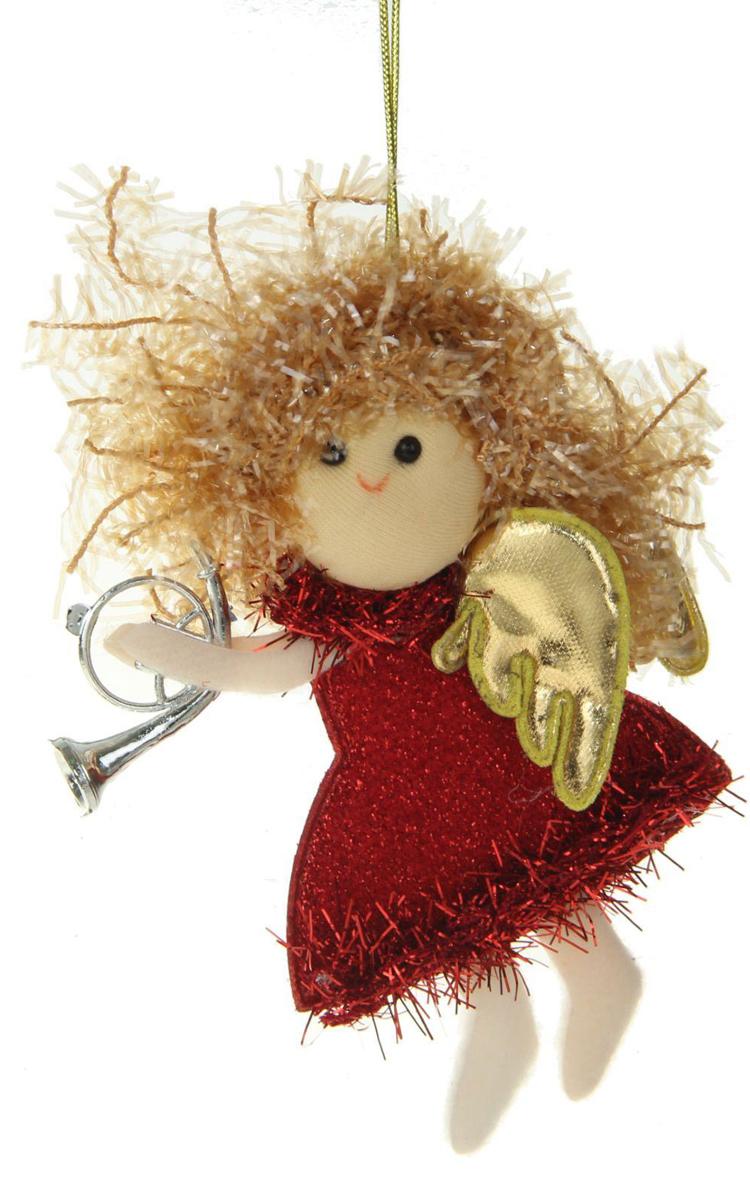 Новогоднее подвесное украшение Sima-land Девочка. Блеск, 11 х 9 см1381188Новогоднее украшение Sima-land отлично подойдет для декорации вашего дома и новогодней ели.Елочная игрушка - символ Нового года. Она несет в себе волшебство и красоту праздника. Такое украшение создаст в вашем доме атмосферу праздника, веселья и радости.