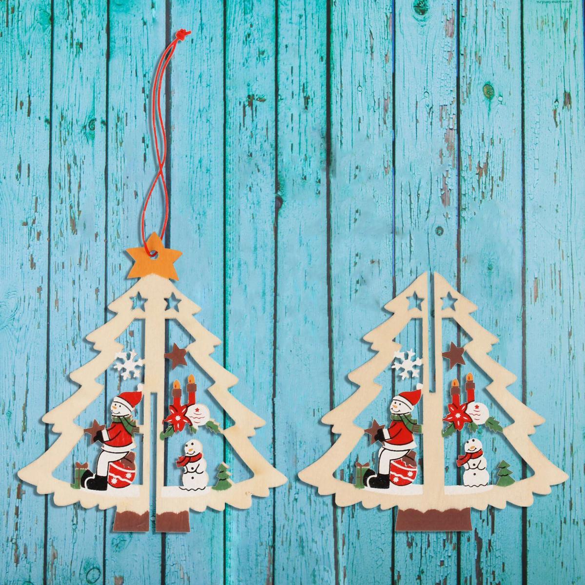 Украшение новогоднее подвесное Sima-land Снеговик на ёлке, 10 см х 10 см х 11 см1392714Новогодние украшения Sima-land изготовлены из пластика. Изделия имеют плотный корпус, поэтому не разобьются при падении.Невозможно представить нашу жизнь без праздников! Новогодние украшения несут в себе волшебство и красоту праздника. Создайте в своем доме атмосферу тепла, веселья и радости, украшая его всей семьей.