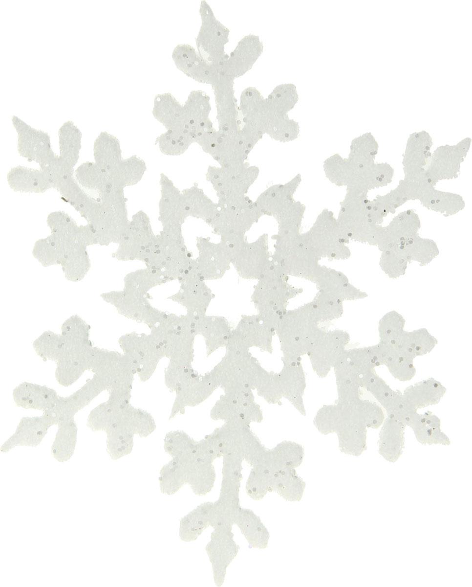 Украшение новогоднее елочное Sima-land Снежинка с блестками, 15 х 15 см, 2 шт1401712Невозможно представить нашу жизнь без праздников! Мы всегда ждём их и предвкушаем, обдумываем, как проведём памятный день, тщательно выбираем подарки и аксессуары, ведь именно они создают и поддерживают торжественный настрой.