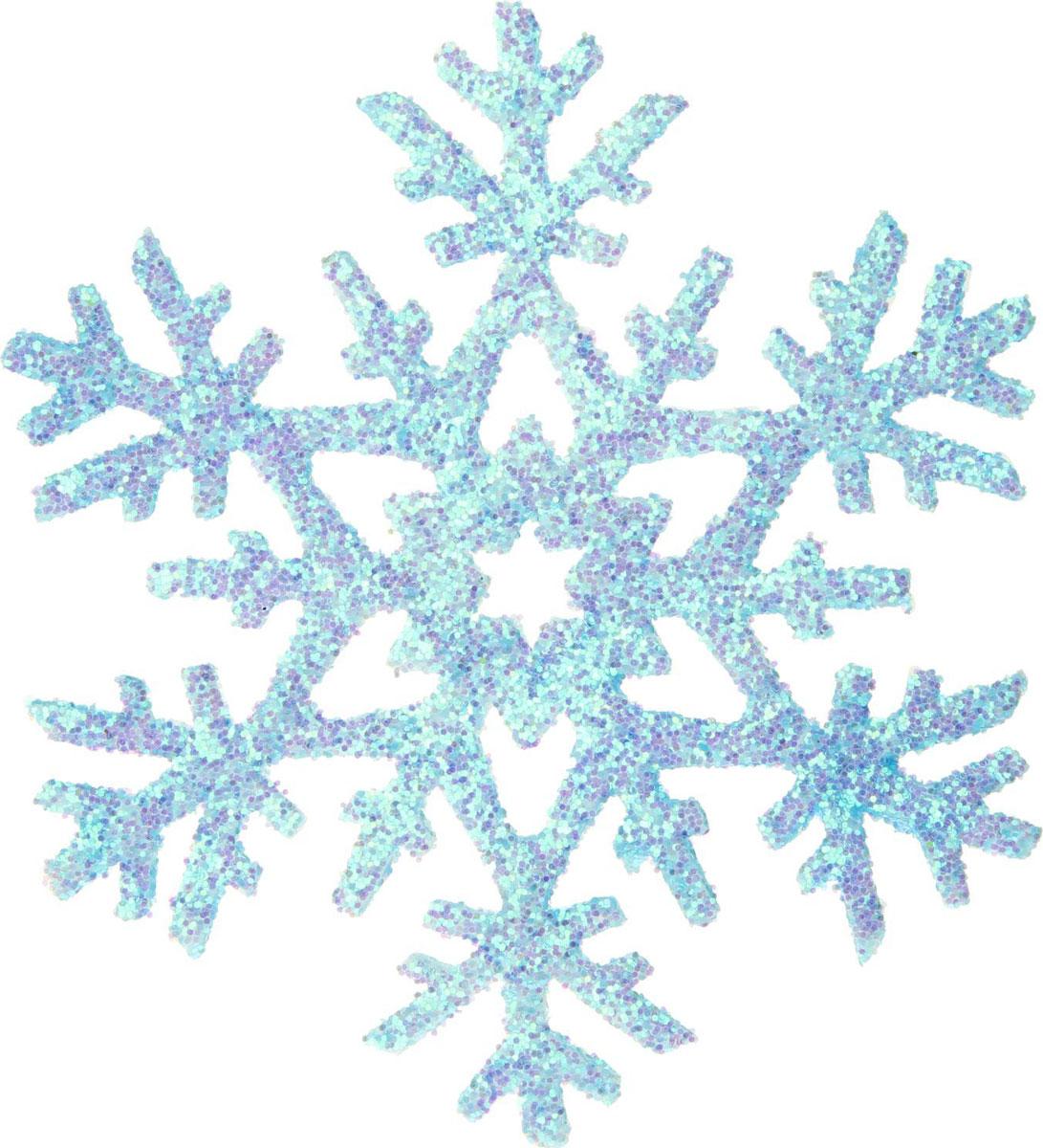 Новогоднее подвесное украшение Sima-land Снежинка со звездой, 20 х 20 см, 2 шт1401715Новогоднее украшение Sima-land отлично подойдет для декорации вашего дома и новогодней ели. Елочная игрушка - символ Нового года. Она несет в себе волшебство и красоту праздника. Такое украшение создаст в вашем доме атмосферу праздника, веселья и радости.