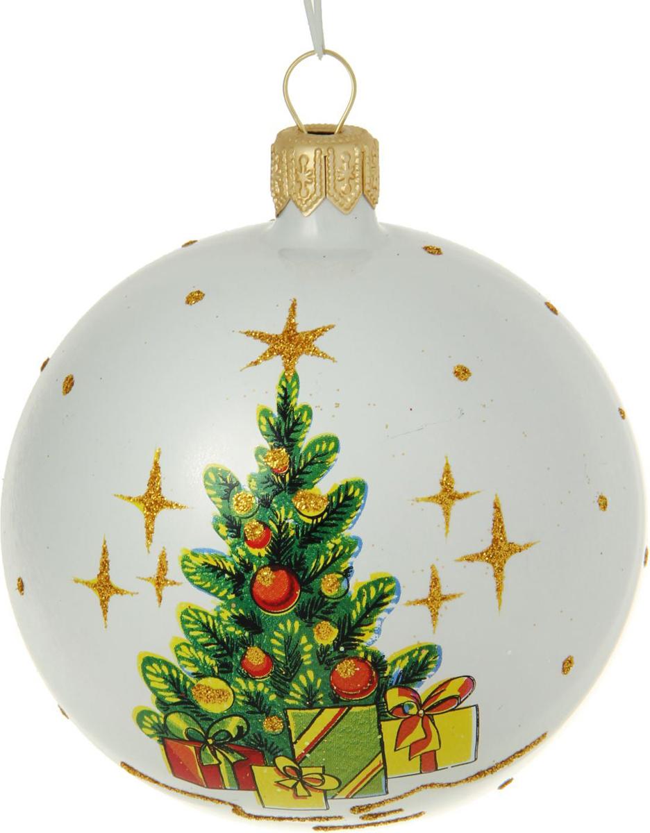 Новогоднее подвесное украшение Ёлочка Искорка, диаметр 7,5 см1485899Новогоднее подвесное украшение Ёлочка отлично подойдет для декорации вашего дома и новогодней ели. Новогоднее украшение можно повесить в любом понравившемся вам месте. Но, конечно, удачнее всего оно будет смотреться на праздничной елке.Елочная игрушка - символ Нового года. Она несет в себе волшебство и красоту праздника. Такое украшение создаст в вашем доме атмосферу праздника, веселья и радости.