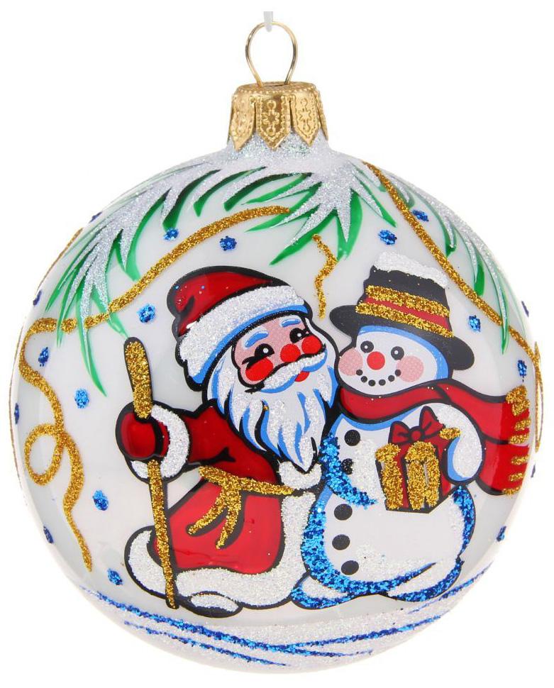 Новогоднее подвесное украшение Ёлочка Морозный, диаметр 8,5 см1485913Новогоднее подвесное украшение Ёлочка отлично подойдет для декорации вашего дома и новогодней ели. Новогоднее украшение можно повесить в любом понравившемся вам месте. Но, конечно, удачнее всего оно будет смотреться на праздничной елке.Елочная игрушка - символ Нового года. Она несет в себе волшебство и красоту праздника. Такое украшение создаст в вашем доме атмосферу праздника, веселья и радости.