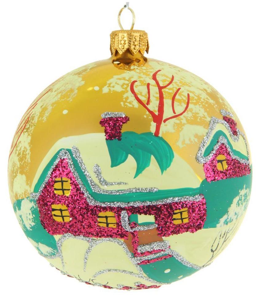 Украшение новогоднее елочное Иней Сугробы, диаметр 10 см1519288Новогоднее подвесное украшение Иней отлично подойдет для декорации вашего дома и новогодней ели. Новогоднее украшение можно повесить в любом понравившемся вам месте. Но, конечно, удачнее всего оно будет смотреться на праздничной елке.Елочная игрушка - символ Нового года. Она несет в себе волшебство и красоту праздника. Такое украшение создаст в вашем доме атмосферу праздника, веселья и радости.