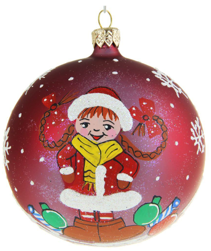 Украшение новогоднее елочное Иней Снегурочка озорница, диаметр 10 см1519301Новогоднее подвесное украшение Иней отлично подойдет для декорации вашего дома и новогодней ели. Новогоднее украшение можно повесить в любом понравившемся вам месте. Но, конечно, удачнее всего оно будет смотреться на праздничной елке.Елочная игрушка - символ Нового года. Она несет в себе волшебство и красоту праздника. Такое украшение создаст в вашем доме атмосферу праздника, веселья и радости.