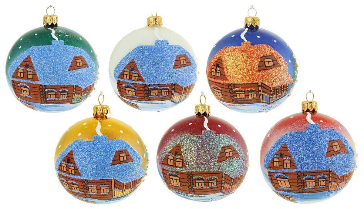 Украшение новогоднее елочное Иней С новым годом, диаметр 8,5 см1519303Новогоднее подвесное украшение Иней отлично подойдет для декорации вашего дома и новогодней ели. Новогоднее украшение можно повесить в любом понравившемся вам месте. Но, конечно, удачнее всего оно будет смотреться на праздничной елке.Елочная игрушка - символ Нового года. Она несет в себе волшебство и красоту праздника. Такое украшение создаст в вашем доме атмосферу праздника, веселья и радости.