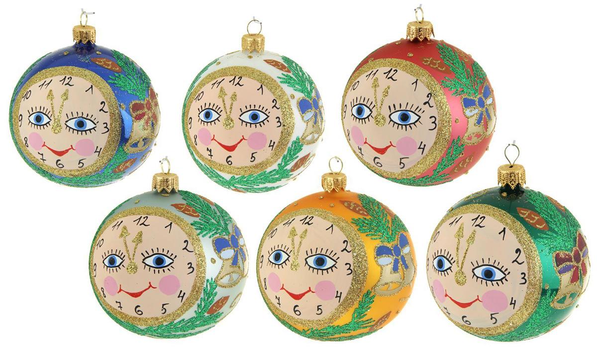 Украшение новогоднее елочное Иней Часики, диаметр 8,5 см1519304Невозможно представить нашу жизнь без праздников! Мы всегда ждём их и предвкушаем, обдумываем, как проведём памятный день, тщательно выбираем подарки и аксессуары, ведь именно они создают и поддерживают торжественный настрой.