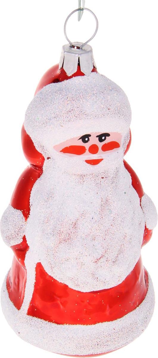 Украшение новогоднее елочное Ёлочка Дед Мороз-2, 4 х 4 х 12 см1721426Невозможно представить нашу жизнь без праздников! Мы всегда ждём их и предвкушаем, обдумываем, как проведём памятный день, тщательно выбираем подарки и аксессуары, ведь именно они создают и поддерживают торжественный настрой.