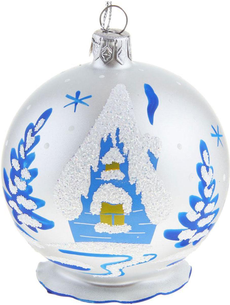 Новогоднее подвесное украшение Ёлочка Мороз, диаметр 7,5 см1721456Новогоднее подвесное украшение Ёлочка отлично подойдет для декорации вашего дома и новогодней ели. Новогоднее украшение можно повесить в любом понравившемся вам месте. Но, конечно, удачнее всего оно будет смотреться на праздничной елке.Елочная игрушка - символ Нового года. Она несет в себе волшебство и красоту праздника. Такое украшение создаст в вашем доме атмосферу праздника, веселья и радости.