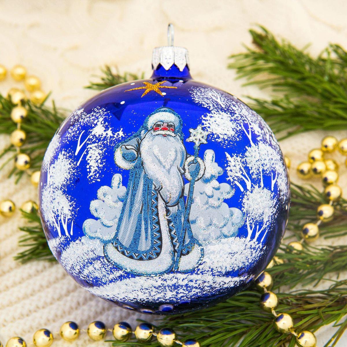 Украшение новогоднее елочное Ёлочка Дед Мороз, диаметр 9,5 см1721466Невозможно представить нашу жизнь без праздников! Мы всегда ждём их и предвкушаем, обдумываем, как проведём памятный день, тщательно выбираем подарки и аксессуары, ведь именно они создают и поддерживают торжественный настрой.