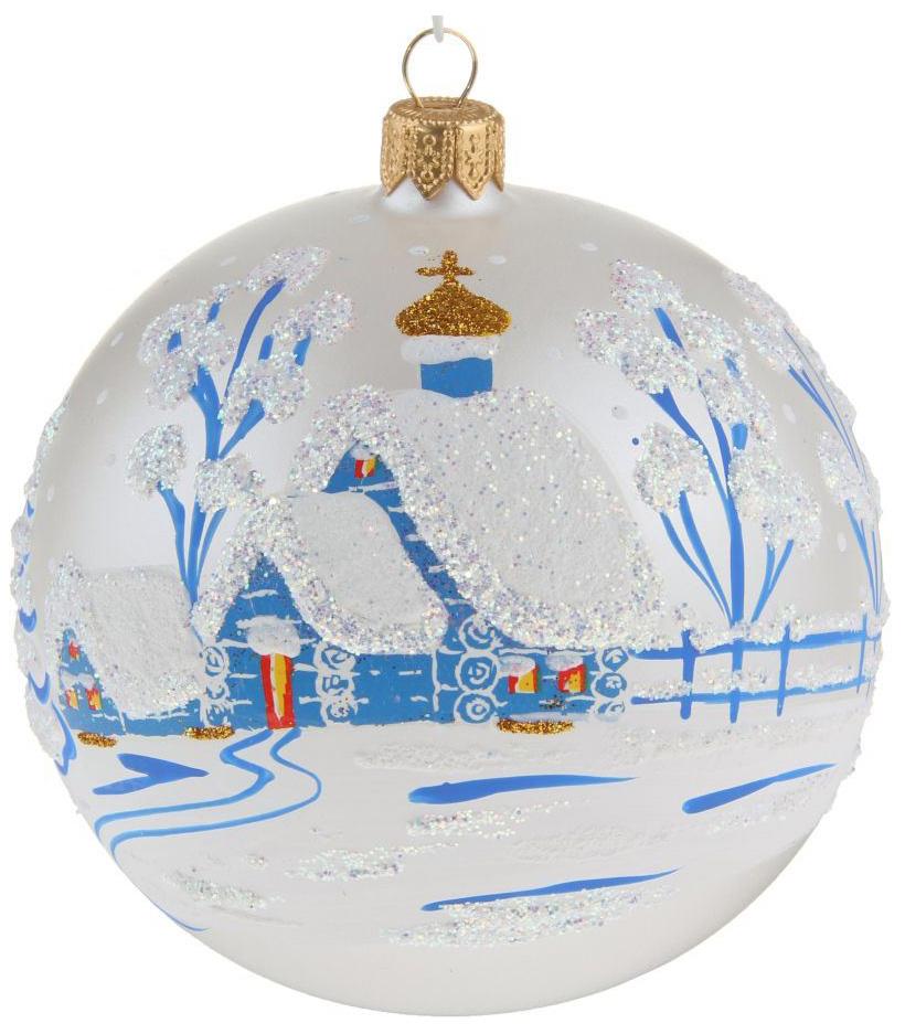 Новогоднее подвесное украшение Ёлочка Зима, диаметр 9,5 см1721467Новогоднее подвесное украшение Ёлочка отлично подойдет для декорации вашего дома и новогодней ели. Новогоднее украшение можно повесить в любом понравившемся вам месте. Но, конечно, удачнее всего оно будет смотреться на праздничной елке.Елочная игрушка - символ Нового года. Она несет в себе волшебство и красоту праздника. Такое украшение создаст в вашем доме атмосферу праздника, веселья и радости.
