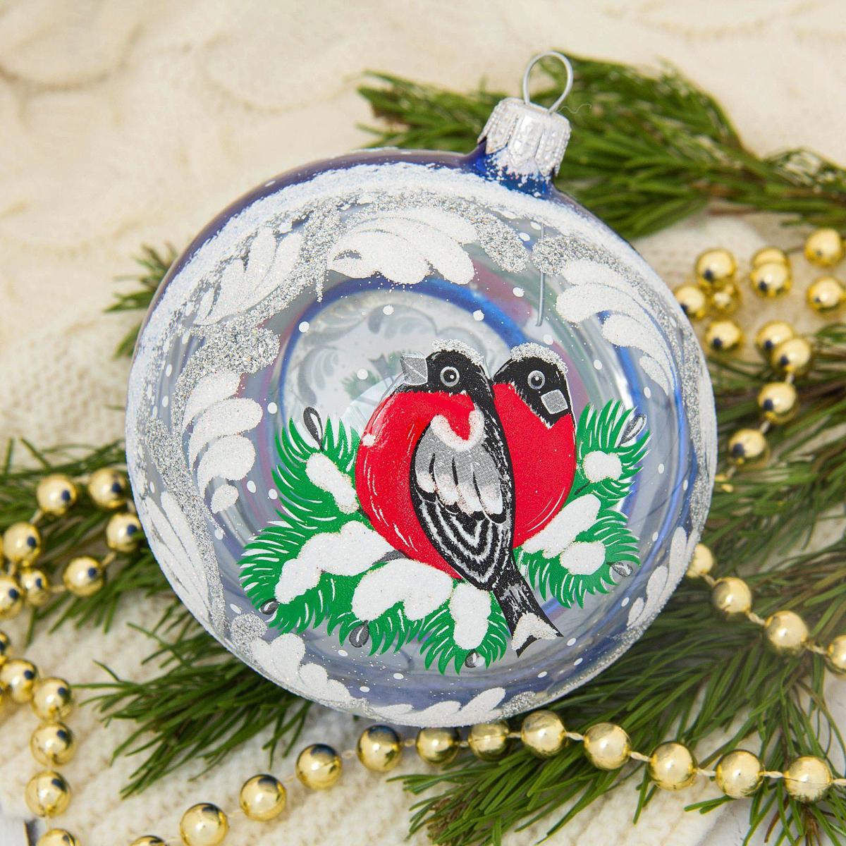Новогоднее подвесное украшение Ёлочка Зимняя ветка, диаметр 9,5 см1721469Новогоднее подвесное украшение Ёлочка отлично подойдет для декорации вашего дома и новогодней ели. Новогоднее украшение можно повесить в любом понравившемся вам месте. Но, конечно, удачнее всего оно будет смотреться на праздничной елке.Елочная игрушка - символ Нового года. Она несет в себе волшебство и красоту праздника. Такое украшение создаст в вашем доме атмосферу праздника, веселья и радости.