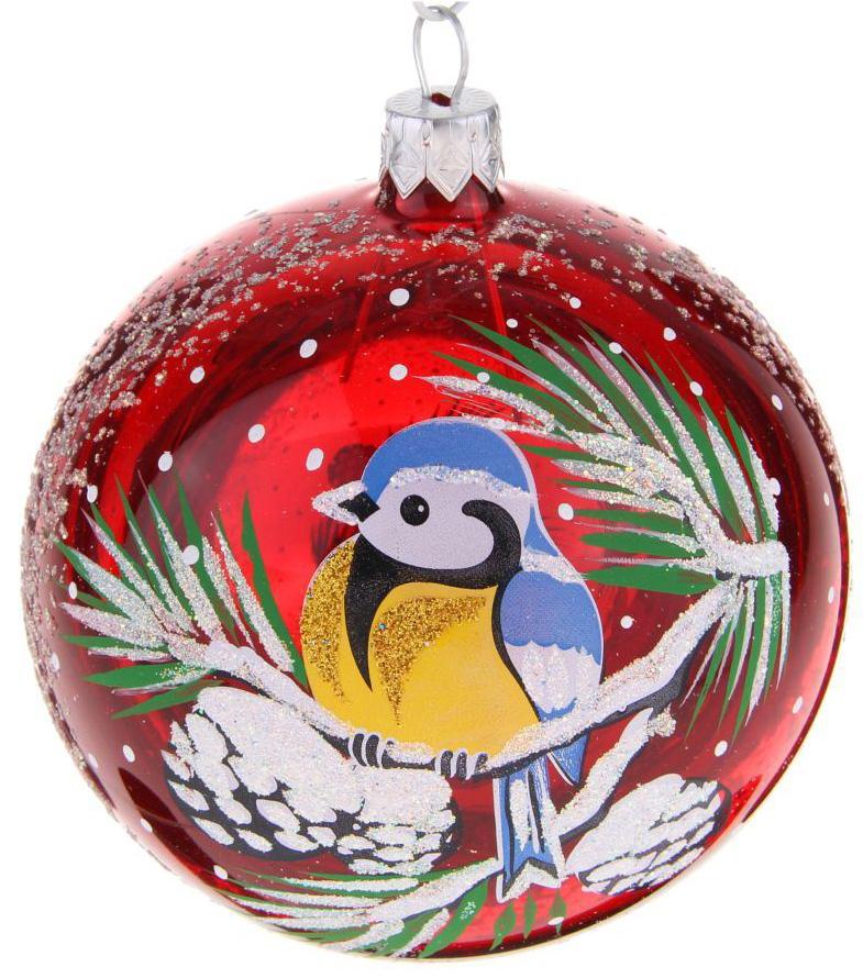 Украшение новогоднее елочное Ёлочка Синичка, диаметр 9,5 см1721475Невозможно представить нашу жизнь без праздников! Мы всегда ждём их и предвкушаем, обдумываем, как проведём памятный день, тщательно выбираем подарки и аксессуары, ведь именно они создают и поддерживают торжественный настрой.