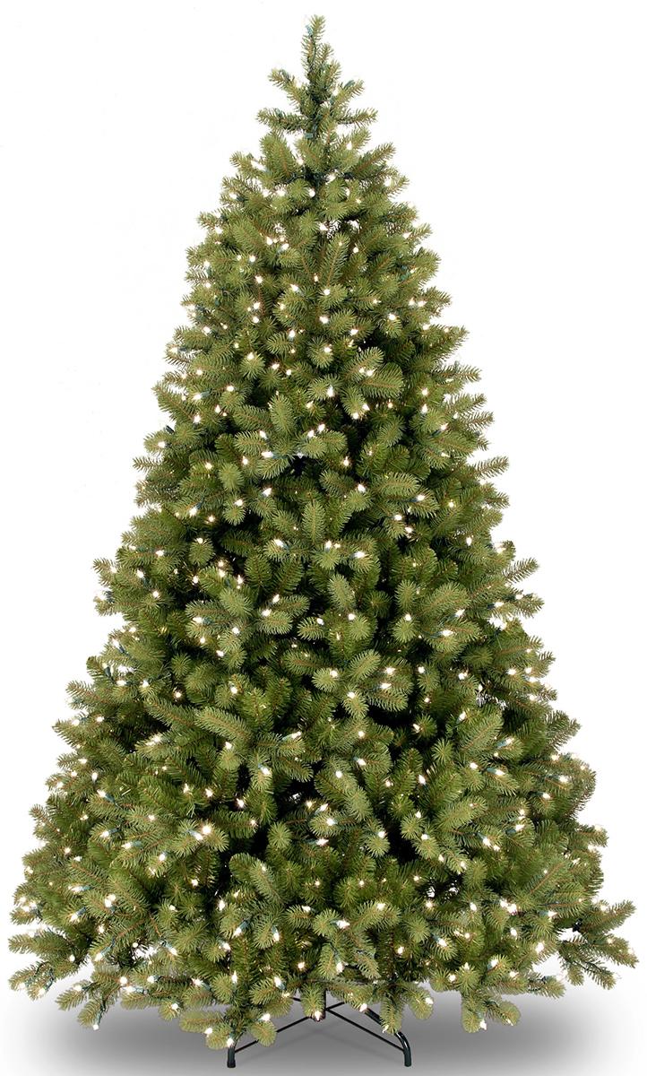 Ель искусственная National Tree Company Poly Bayberry, напольная, с LED гирляндой, высота 1,83 м31HPEBY60LPCИскусственная ель - это прекрасный вариант для оформления интерьера к Новому году. Остается только собрать и нарядить красавицу. Она абсолютно безопасна, удобна в сборке и не занимает много места при хранении. Ель состоит из верхушки, сборного ствола и устойчивой подставки. Сказочно красивая новогодняя ель украсит интерьер вашего дома и создаст теплую и уютную атмосферу праздника. Ель снабжена гирляндой (450 ламп), работающей от сети.